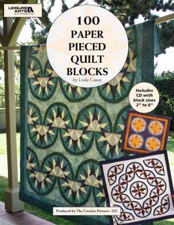 100 Paper Pieced Quilt Blocks By Weiss, Rita (EDT)